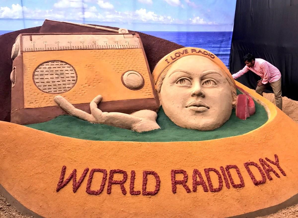 Today is World Radio Day