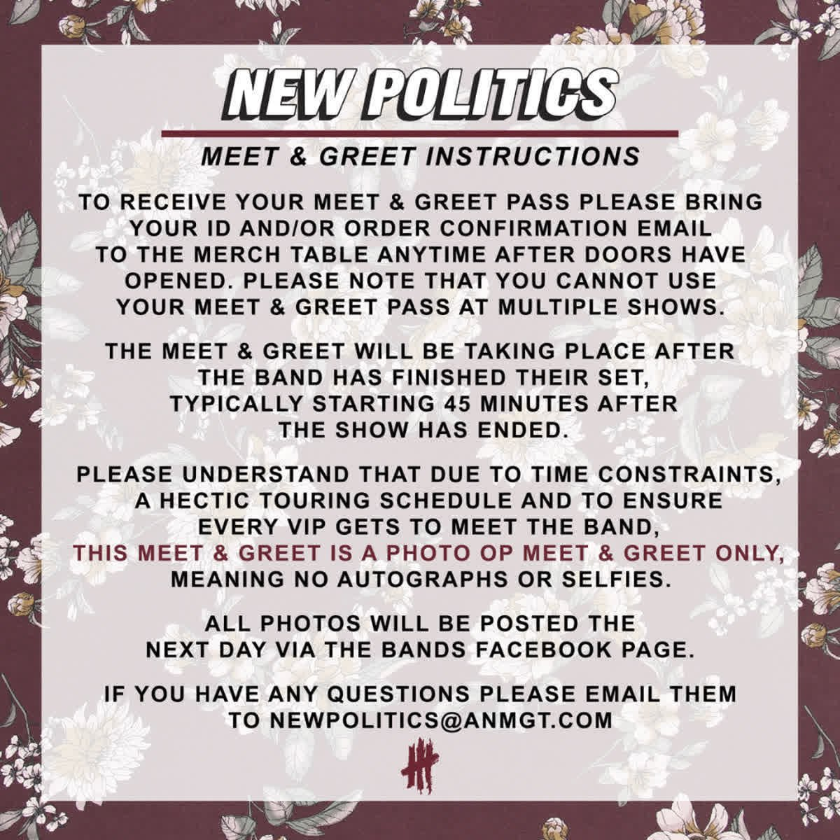 New politics on twitter get a meet greet with us by ordering 729 pm 12 feb 2018 m4hsunfo Gallery