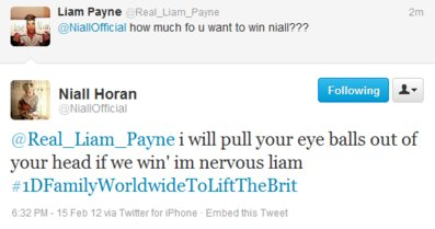 Today (February 15) in 2012 - Niall's ne...