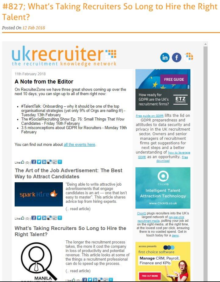 Recruitment Jobs (@Rec4Recruitment) | Twitter