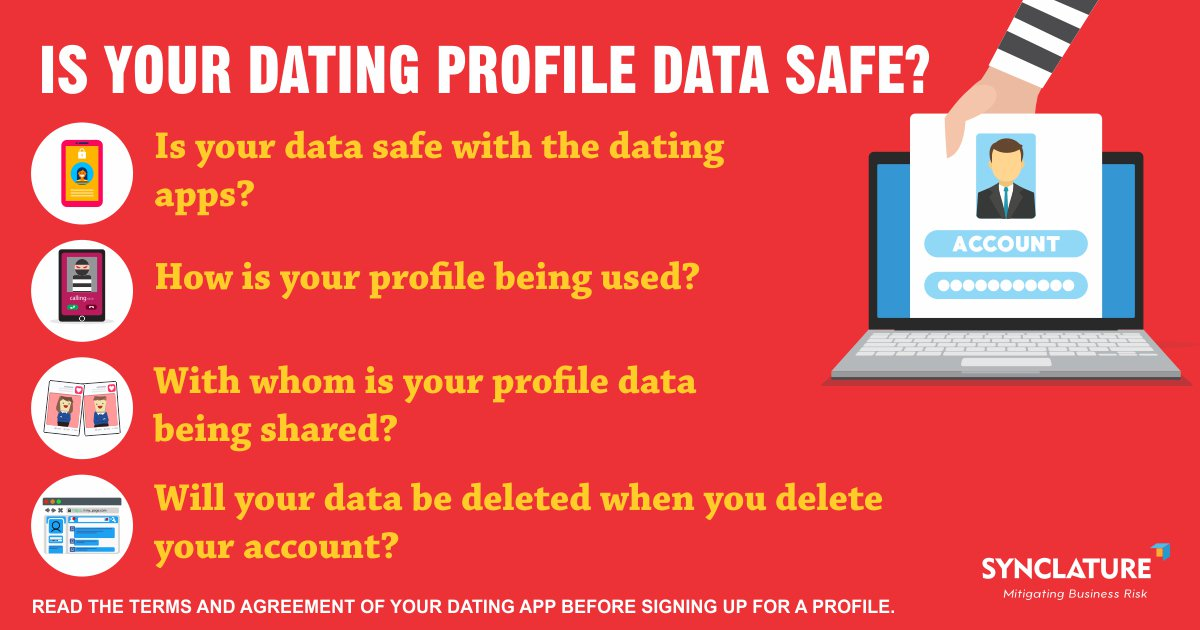 Safe dating profile