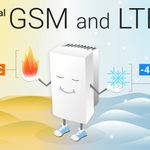 Image for the Tweet beginning: New SatSite with superpowers. #LTE #GSM