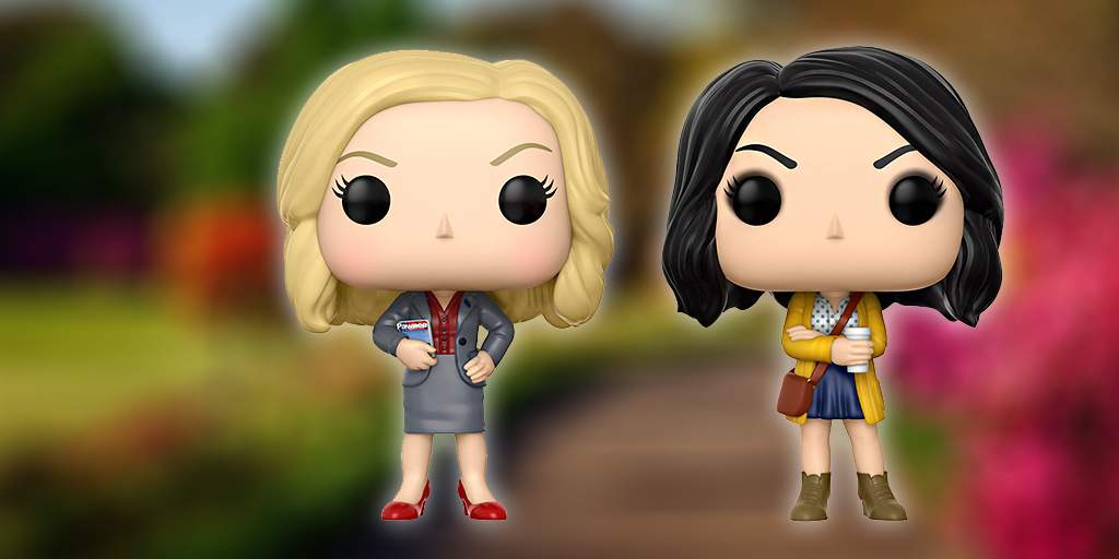 Happy #GalentinesDay 💝 RT & follow @funkoeurope for a chance to win a Leslie Knope and April Ludgate Pop! for you and your bestie! Winner announced 15/02/18 #ParksandRec