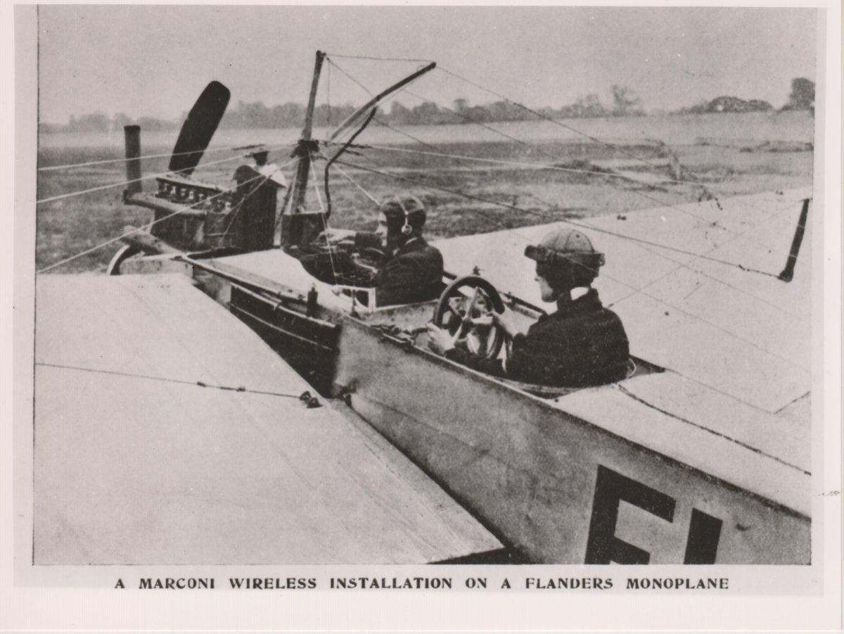 Happy #WorldRadioDay2018! Did you know that in 1911/12 Marconi's early air-ground wireless experiments were carried out at Brooklands &amp; in 1915 the first air-to-ground voice transmission took place at Brooklands over about 20miles  http:// brooklandswireless.com  &nbsp;  <br>http://pic.twitter.com/530TExzR2b