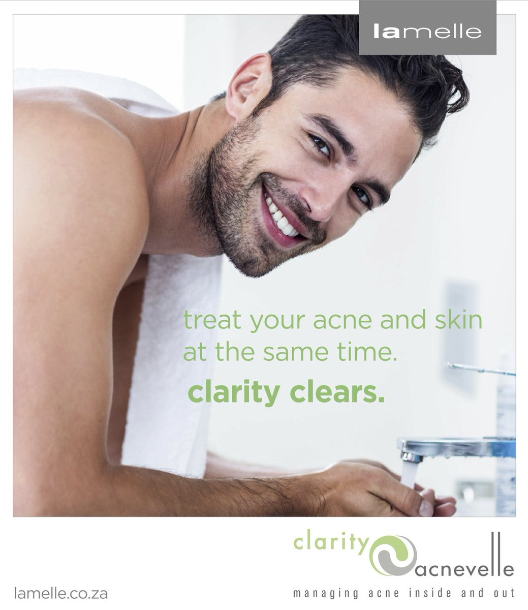 Treat your acne and your skin at the same time. #ClarityClears