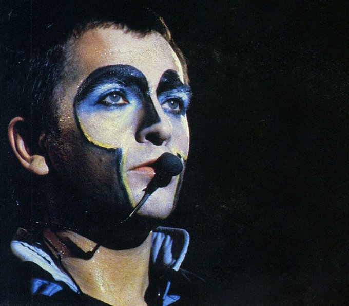 """Happy Birthday Peter Gabriel.  \""""It\s one o\clock and time for lunch\"""".."""