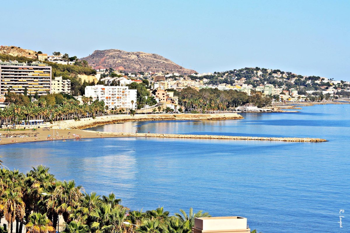 ¡Buenos días desde #Málaga! Foto: Rogeli...