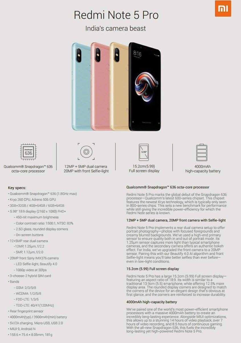 b3d959f88014 Re:] Szerdán mutatkozhat be a Xiaomi Redmi Note 5 - Mobilarena ...