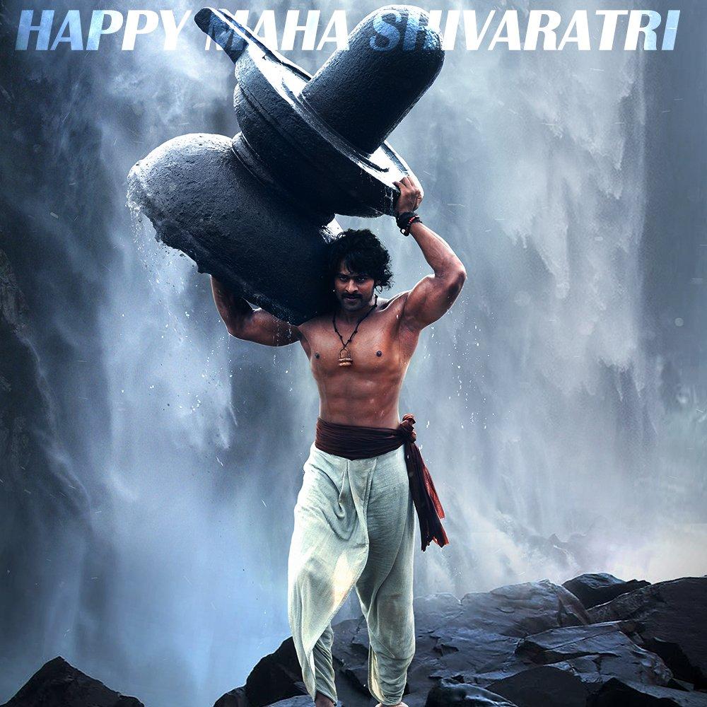 Prabhas's photo on #MahaShivaratri