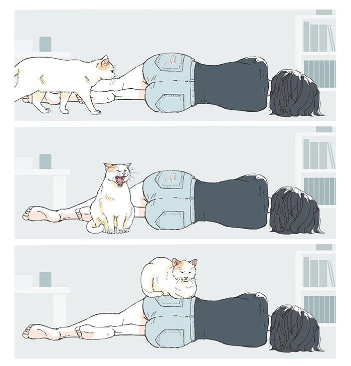 猫の良さを私なりに描いてみたらこうなった