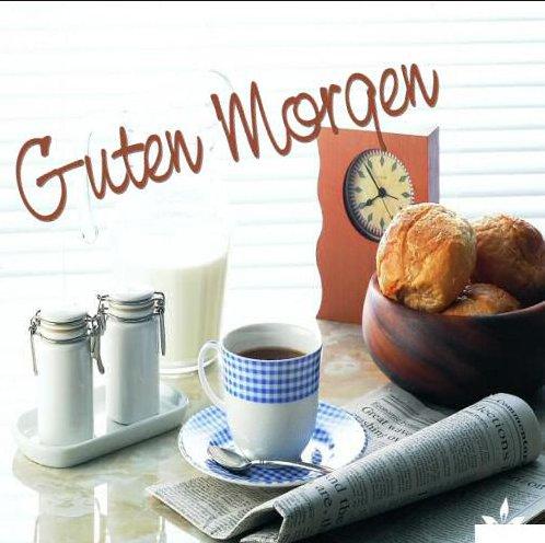 Открытка с добрым утром на немецком языке