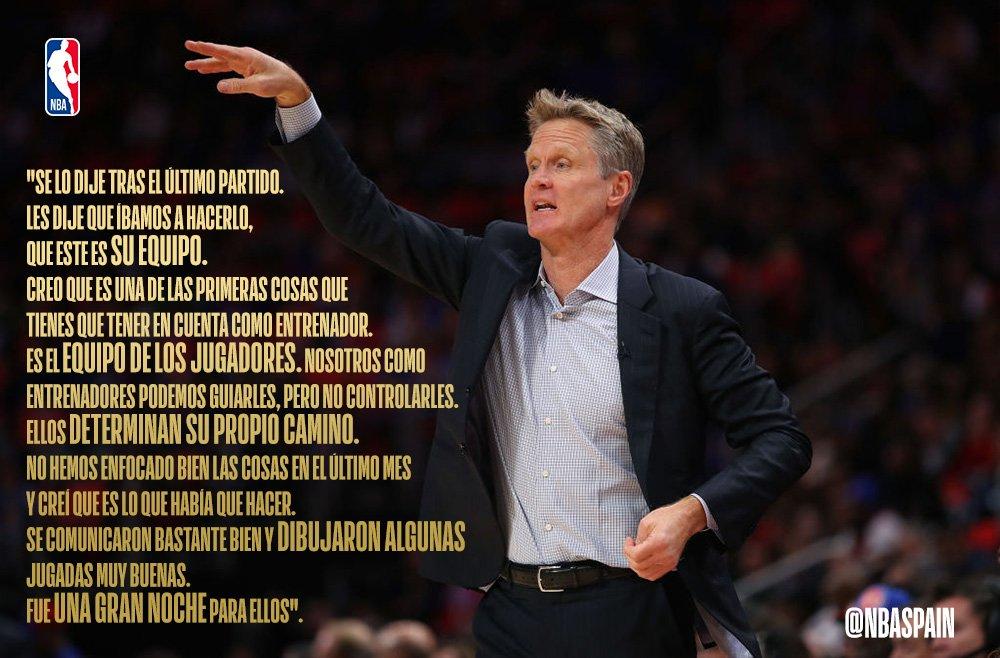 NBA Spain's photo on Kerr