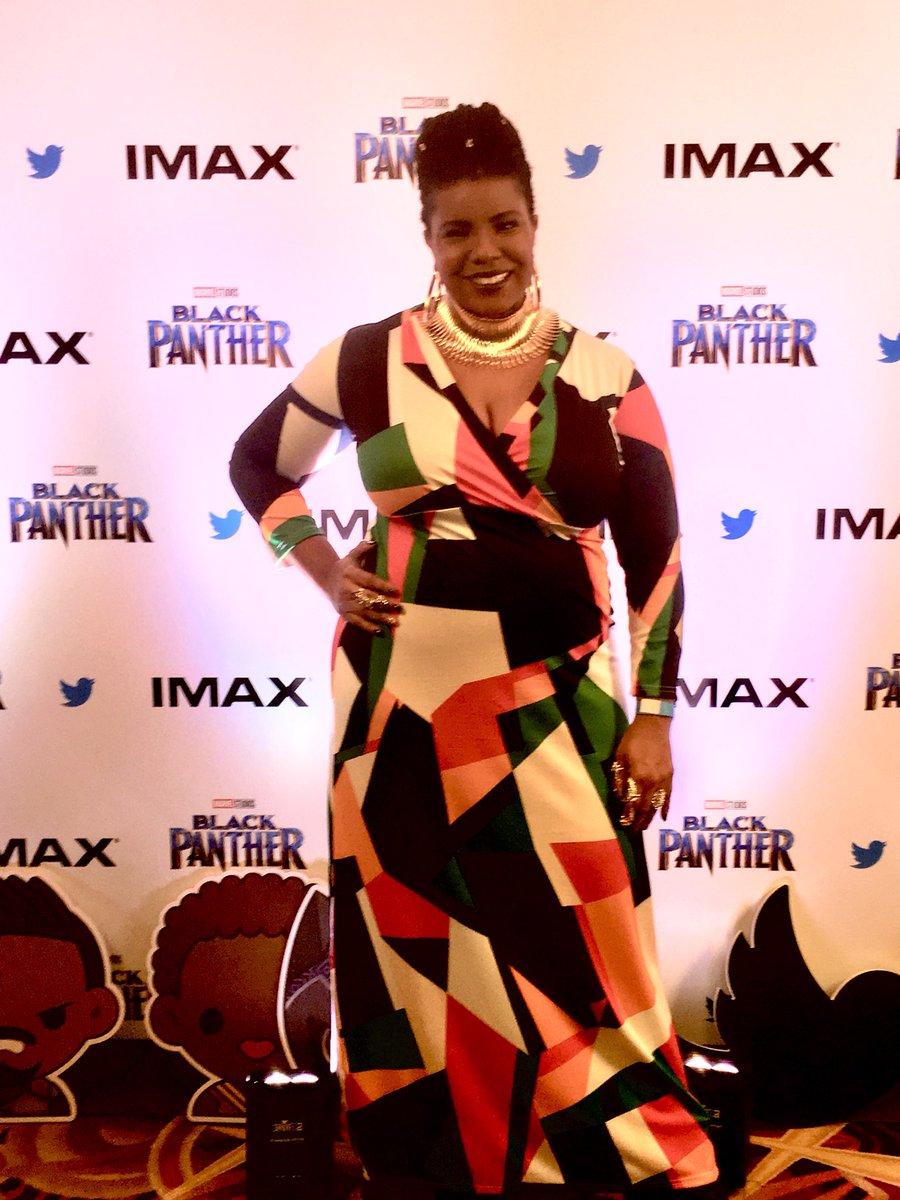 Also... I looked amazing last night. I've seen pictures. I was amazing. #WakandaForever #WOCAffirmation Okay, I'm done @jperiodBK. 🙃
