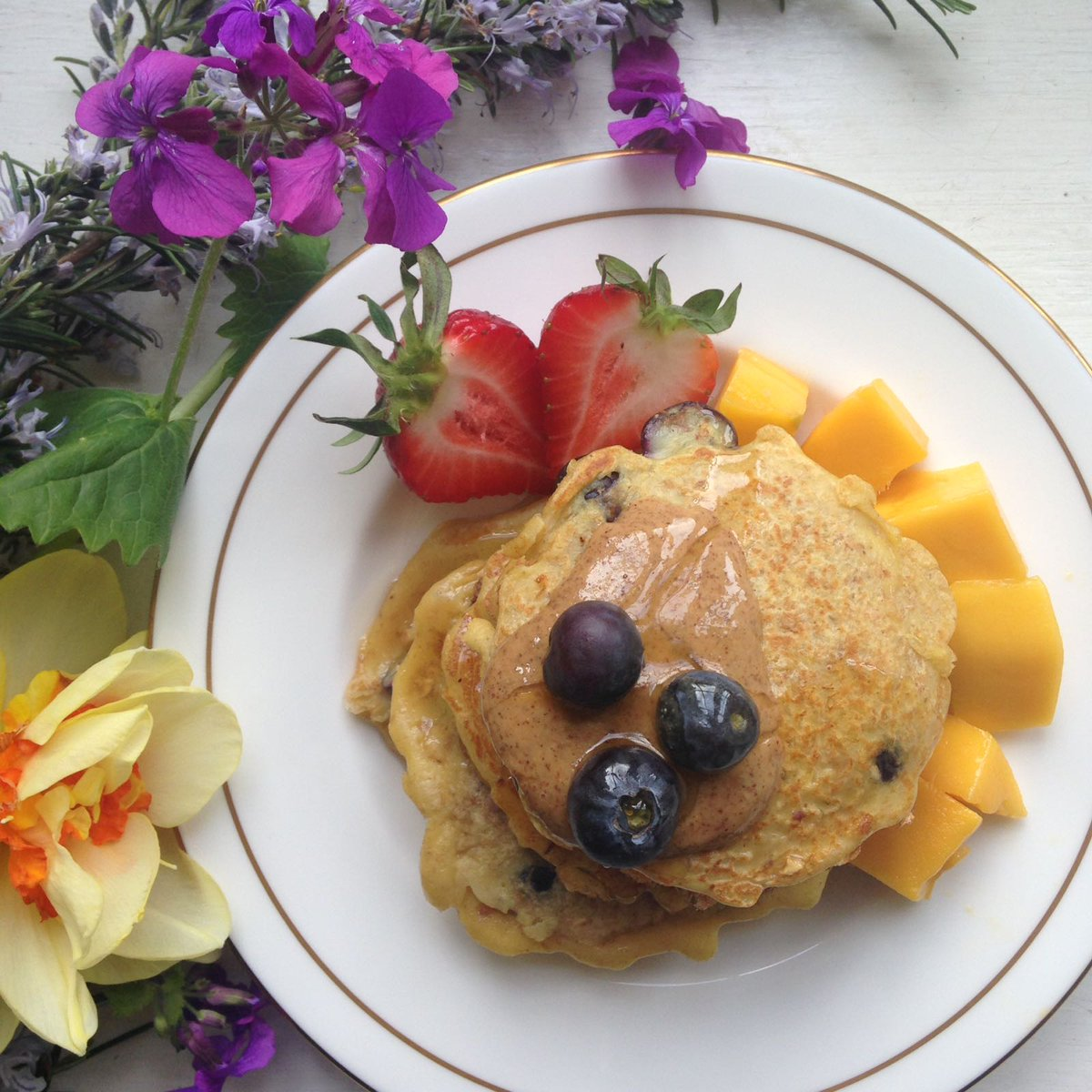 happy pancake recipe
