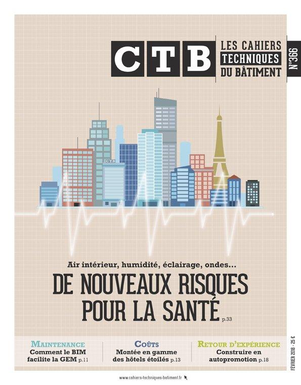A paraître : #QAI, #humidite, #eclairage, #ondeselectromagnétiques... Les CTB examinent les grands enjeux de #santé du #batiment. #teamarchi @ademe @CSTB @Anses_fr @Le_Moniteur