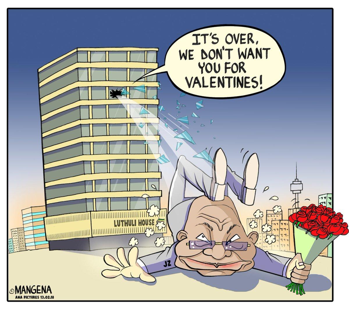 A special cartoon by @Mangenatoons #Zuma...