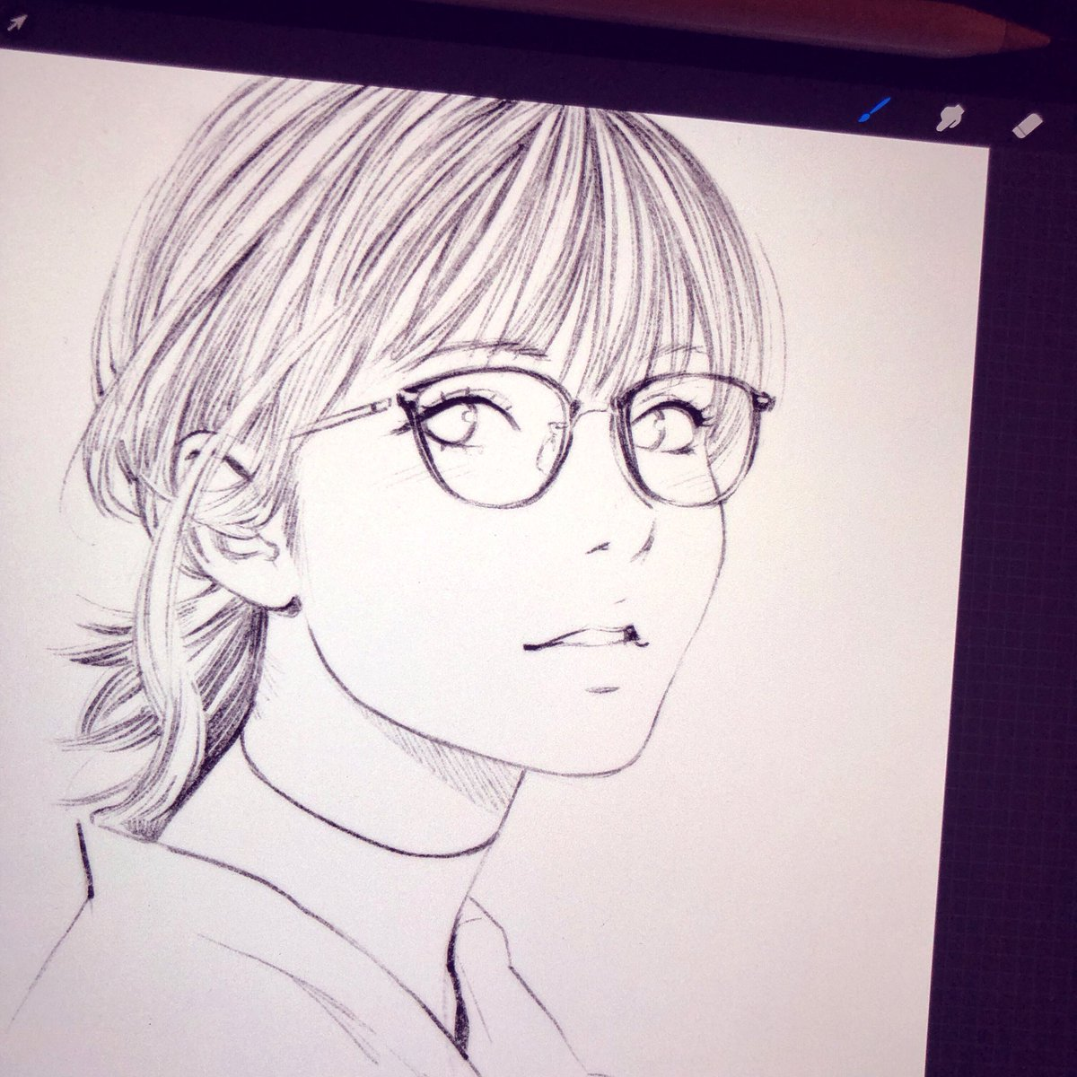 iPad Study Sketch ✨