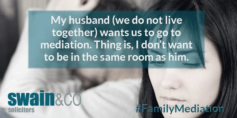 My #husband (we do not #livetogether) wants us to go to #mediation. Thing is, I don't want to be in the same room as him. #FamilyMediation #ShuttleMediation #MIAM #Abusive #LegalAdvice #FamilyLaw https://t.co/rzJjF8xwwF https://t.co/VSufjNQXDD