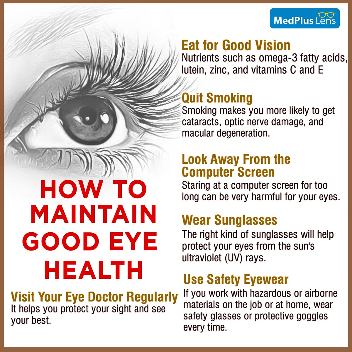 "MedPlusIndia on Twitter: ""Healthy eyes are most beautiful but to"