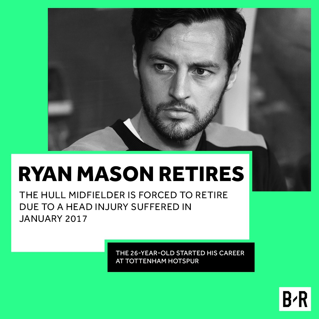 BREAKING: Ryan Mason has announced his retirement from football, following medical advice