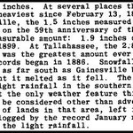 "Feb 12-13, 1958 - Tallahassee, #FL recorded their largest snowfall on record with 2.8""  #wxhistory @FLMemory photos -> https://t.co/5gjRiO6RUc"
