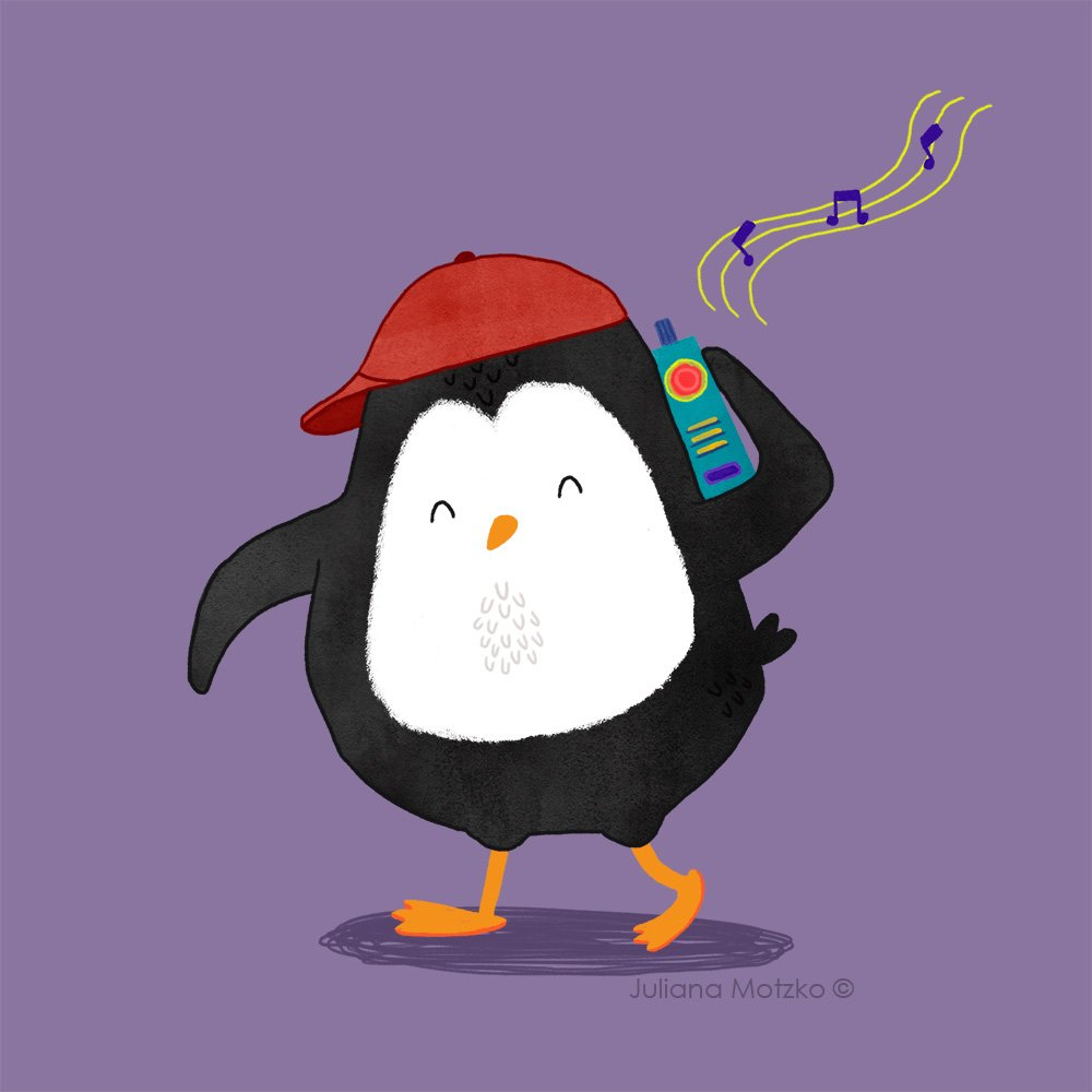 Happy #WorldRadioDay !  #penguin #diamundialdoradio #diamundialdelaradio #radio #fun #characterdesign #illustration #JulianaMotzko<br>http://pic.twitter.com/ngtn06OQD3