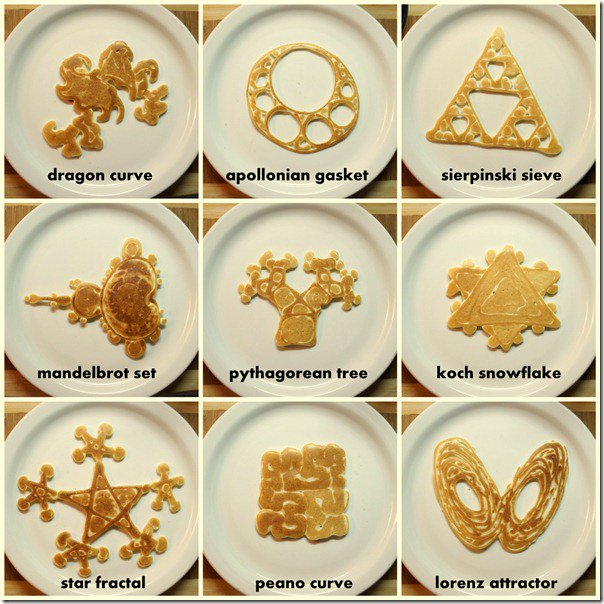 Happy Pancake Day! Enjoy some science today with fractal pancakes #PancakeDay #FatTuesday #FatTue #MardiGras #SciComm