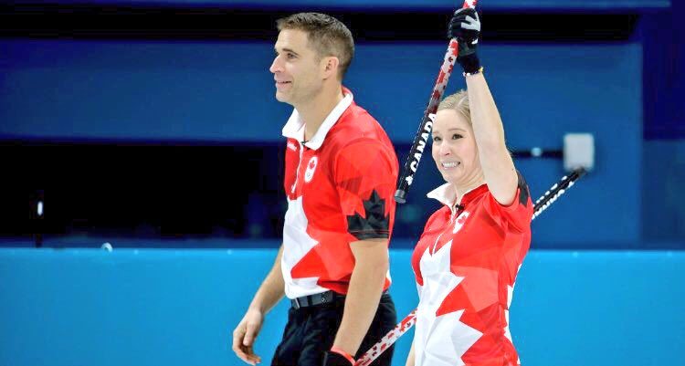 BREAKING - GOLD   Kaitlyn Lawes and John Morris defeat Switzerland to capture first-ever Mixed Doubles Olympic curling gold medal.  HISTORY:  They also become the first two Canadians to win gold in curling at the Olympics twice. #cbccurl