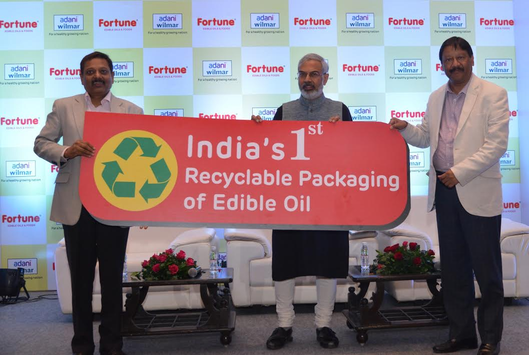 Adani Wilmar to replace its Fortune edible oil packaging with recyclable material