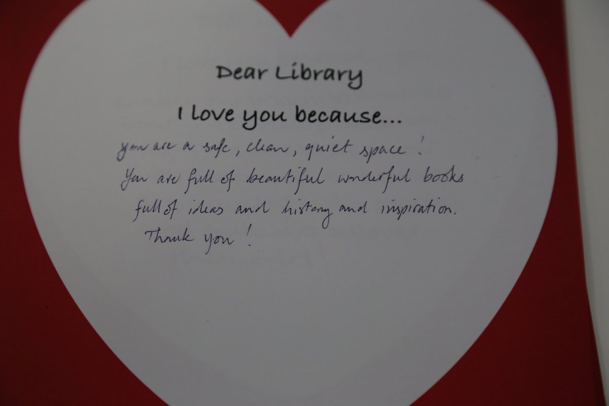 Uct Libraries On Twitter Another Stunning Love Letter Thank You