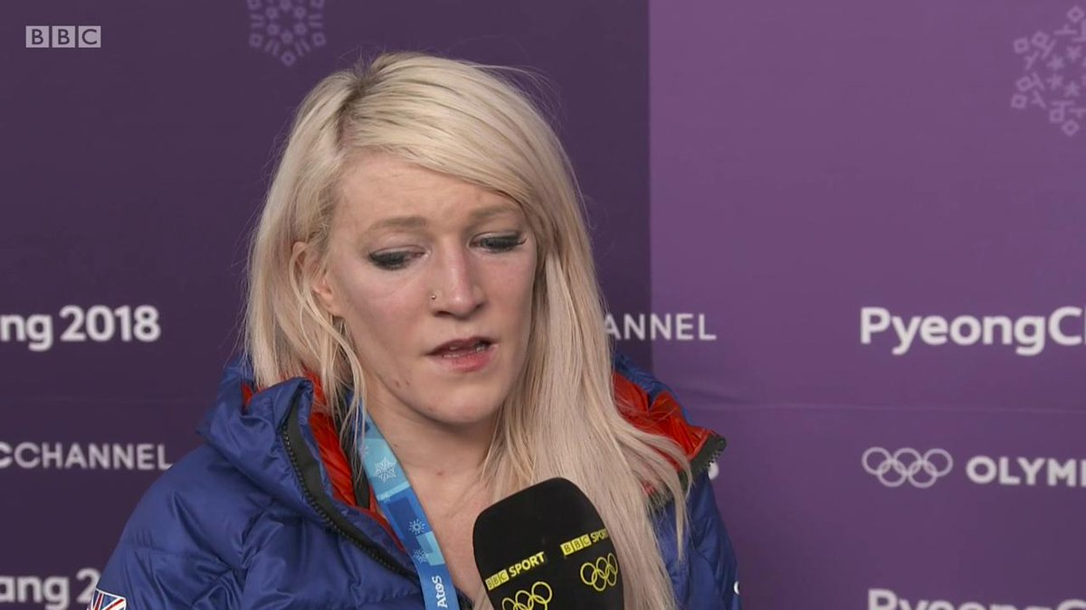 In my feelings I was knocked over, I didnt fall on my own... Ive worked so hard for the 500 and its been taken away from me Utter heartbreak for Elise Christie #WinterOlympics2018 #bbcolympics