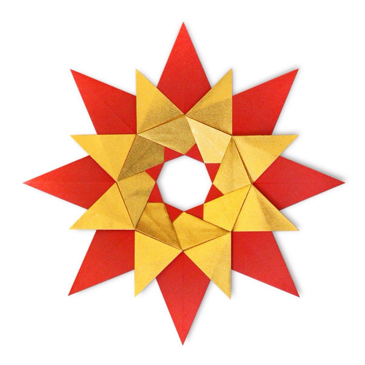 How to make a Modular Robin Star Origami [by Maria Sinayskaya ... | 1200x1200