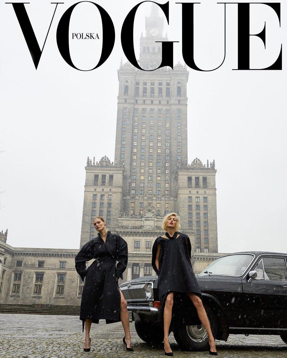 Congratulations to Poland for @VoguePoland magazine 💥 Let's take some new fashion inspiration 🖤 #cantwait tomorrow #VoguePolska https://t.co/JNIkdSYSrH