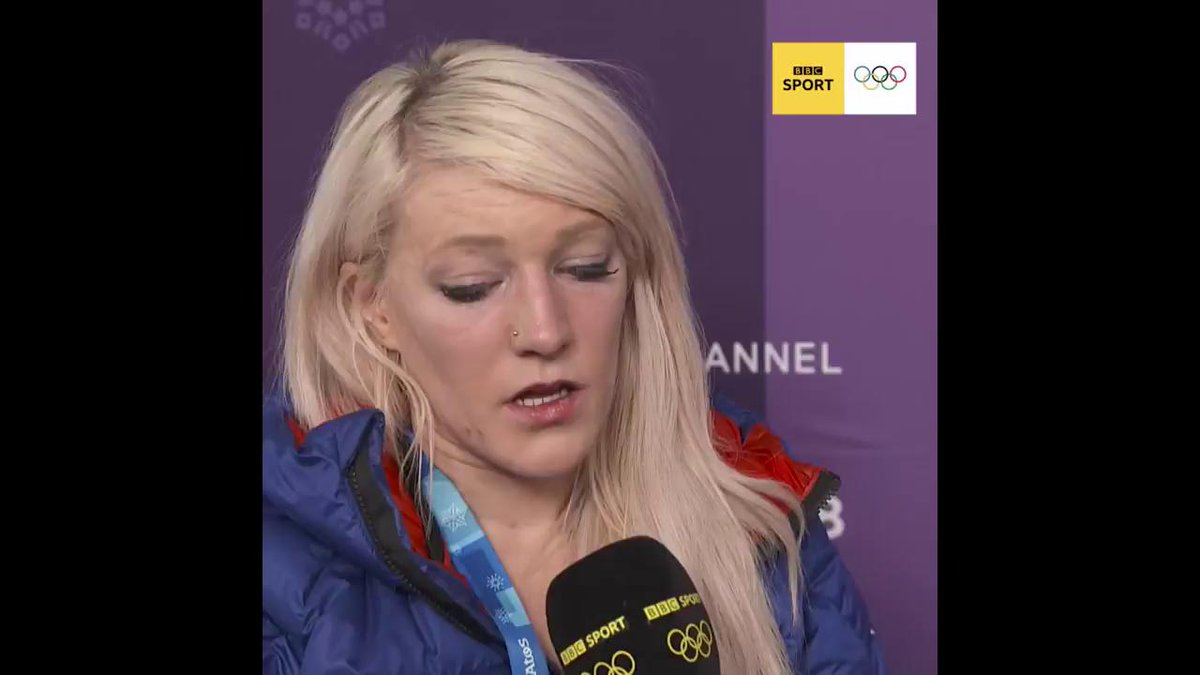 In the face of Olympic heartbreak, Elise Christie is one of the bravest people weve ever seen #WinterOlympics2018 #bbcolympics