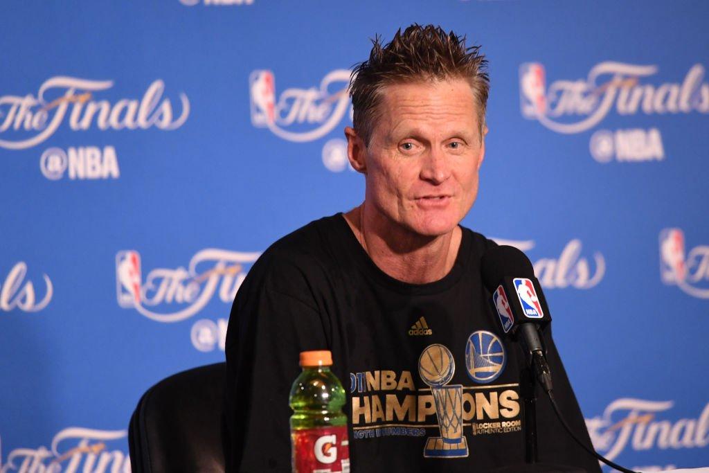 TSD NBA's photo on Kerr