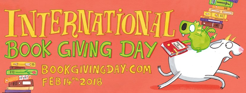Did you know that 14th February is #BookGivingDay which aims to share the love of reading and get books into the hands of children? Heres more about it and how you can get involved via @bookgivingday bit.ly/2Em96A6