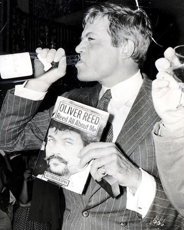 Happy birthday to Oliver Reed. Celebrate by drinking a bottle or ten of the good stuff.