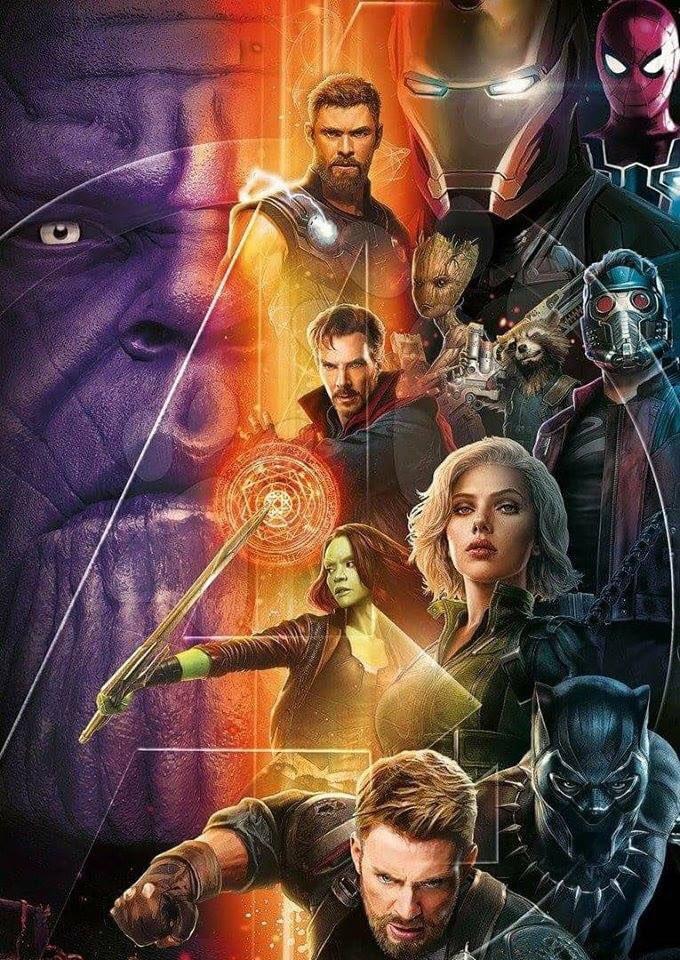 Nuevo póster promocional #avengersinfinitywar, ¿te gusta? https://t.co/BsWXNewxqD