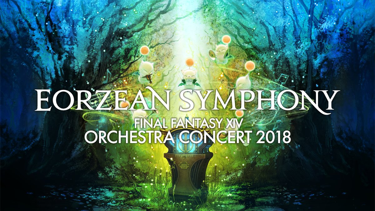 Image result for FINAL FANTASY XIV Orchestra Concert 2018 – Eorzean Symphony