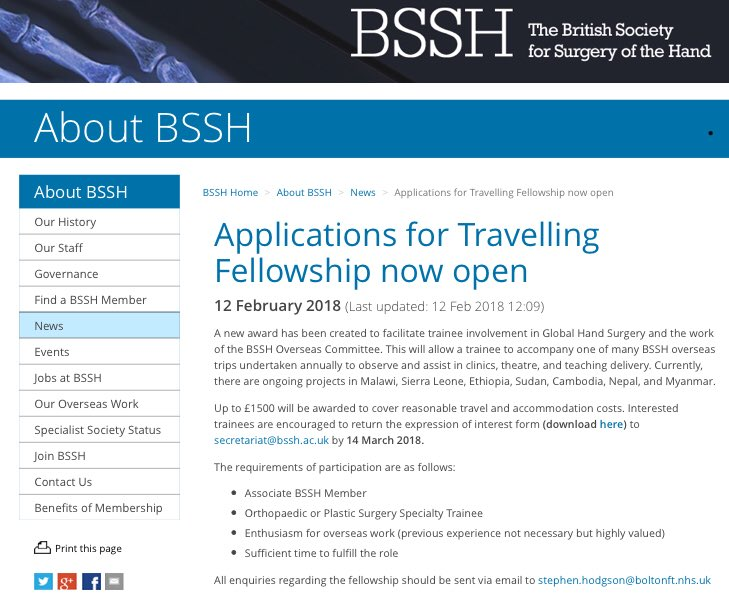 British Society for Surgery of the Hand on Twitter: