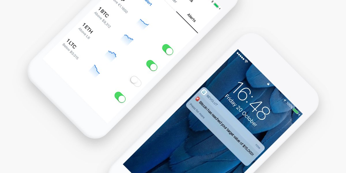 Revolut on twitter you can now set price alerts for any of the revolut on twitter you can now set price alerts for any of the 25 supported fiat currencies as well as for bitcoin litecoin and ether ccuart Gallery