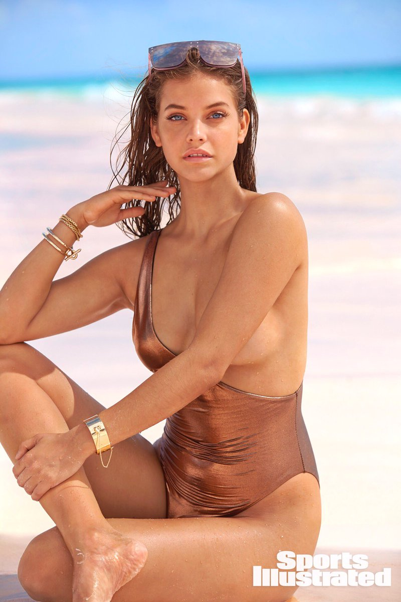 """DAILY CELEBZ on Twitter: """"Barbara Palvin for Sports Illustrated Swimsuit  (2018)… """""""