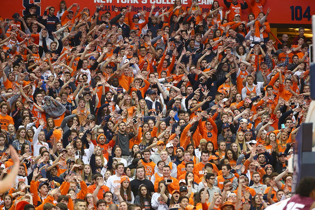 Syracuse Basketball On Twitter The Loudhouse Crowd Of