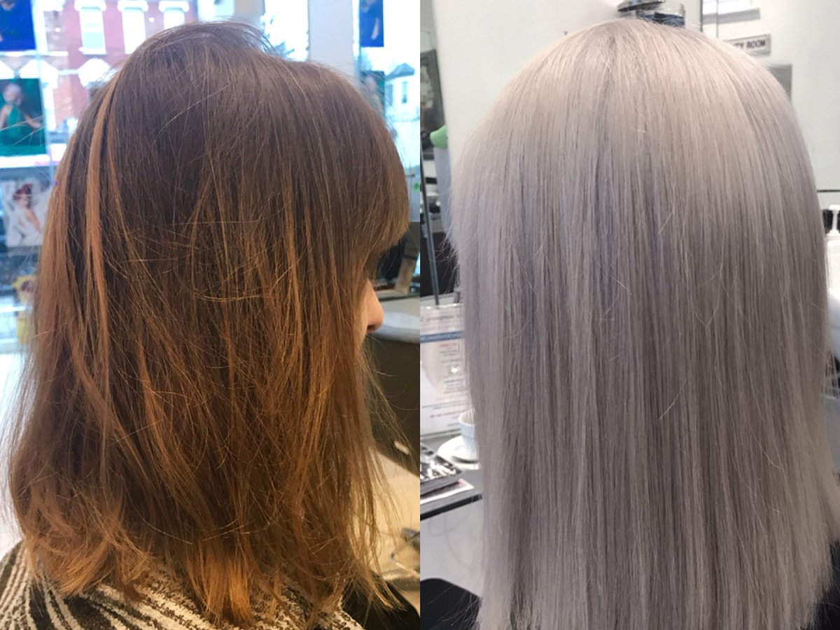The Uk Hairdresser On Twitter Icy Blonde Always An Iconic Shade Fabulous Transformation By Stacey Kayandkompany Formula Full Head Bleach 20vol Olaplex Added For Maximum Hair Condition Toner Goldwell Topchic 10p