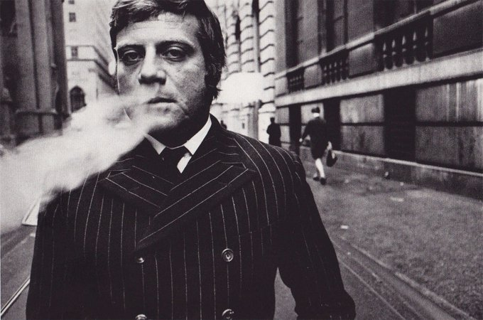 Oh, Oliver Reed. Happy birthday you rascal, you.