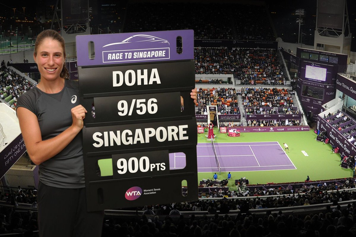 WTA's photo on Doha