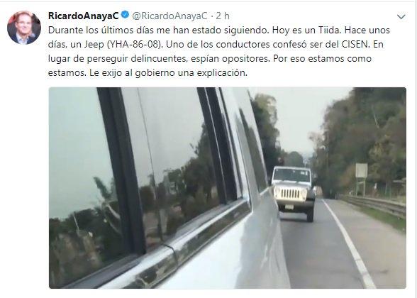 #LaRealNoitcia Video: @RicardoAnayaC  De...