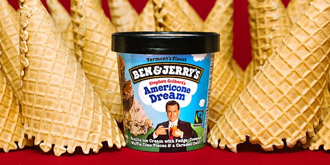 Ben Jerry S On Twitter Guess Whose Top Ten Flavor Turns 11 Tomorrow Yeah It S Stephenathome S Americone Dream Https T Co Xfynaklemw Colbertlateshow Https T Co Sjgsbrrcac An unrivaled destination for food, fun, fashion. guess whose top ten flavor turns
