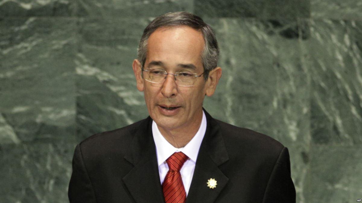 Arrestan a expresidente de Guatemala Álv...