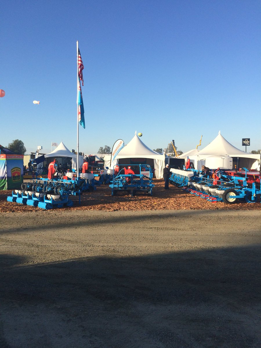 First day of #WorldAgExpo. Come out and...